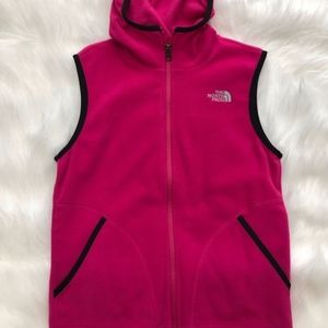The North Face Girl's Hooded Vest - Size M (10/12)
